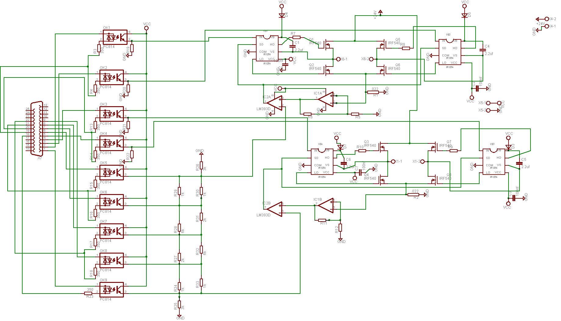 Stepper Motors Drives Driver Circuit Comments Circuitdrivercircuitjpg Basically I Want To Step The Ir2184 Chips With A Laptop Resistor Ladder Is Set Voltage Refi Might As Well Add That While Can